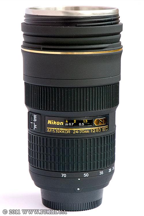Термокружка Nikon Nikkor 24-70/2.8G ED
