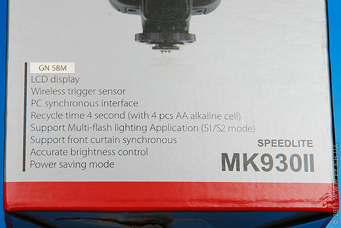 Aliexpress: Обзор фотовспышки Meike MK-930II